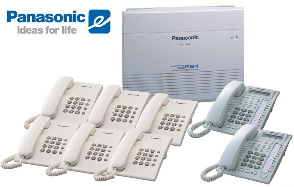 Pabx-Panasonic-KX-TES824